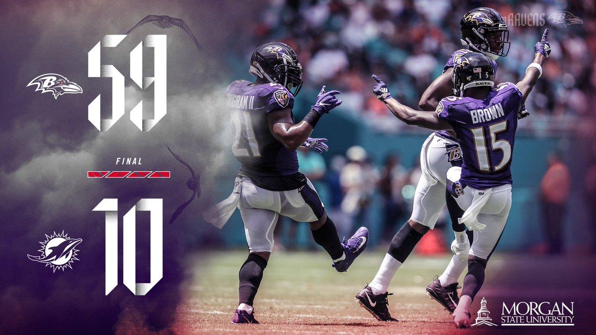 Ravens Win